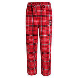 Texas Tech University Men's Small Flannel Plaid Pajama Pant with Left Leg Team Logo