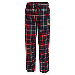 University of Mississippi Men's Small Flannel Plaid Pajama Pant with Left Leg Team Logo