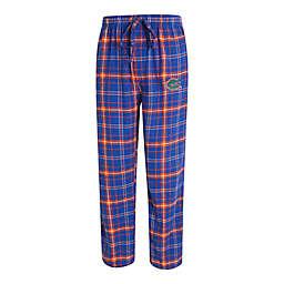 University of Florida Men's Small Flannel Plaid Pajama Pant with Left Leg Team Logo