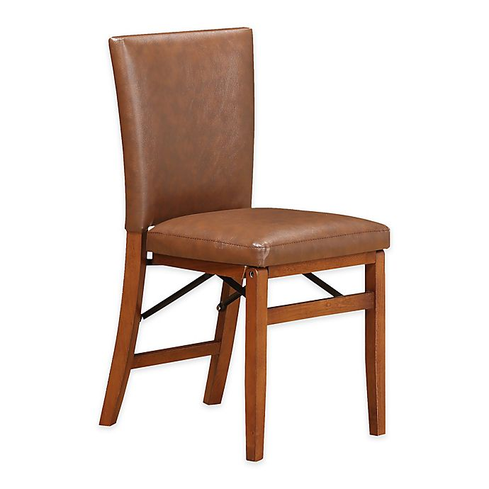 Alternate image 1 for Folding Parsons Dining Chair