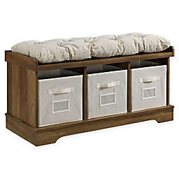 Forest Gate™ Entryway Storage Bench with Totes