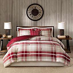 Woolrich® Sheridan California King Comforter Set in Tan/Red