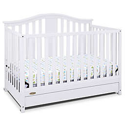 Graco® Solano 4-in-1 Convertible Crib with Drawer in Grey