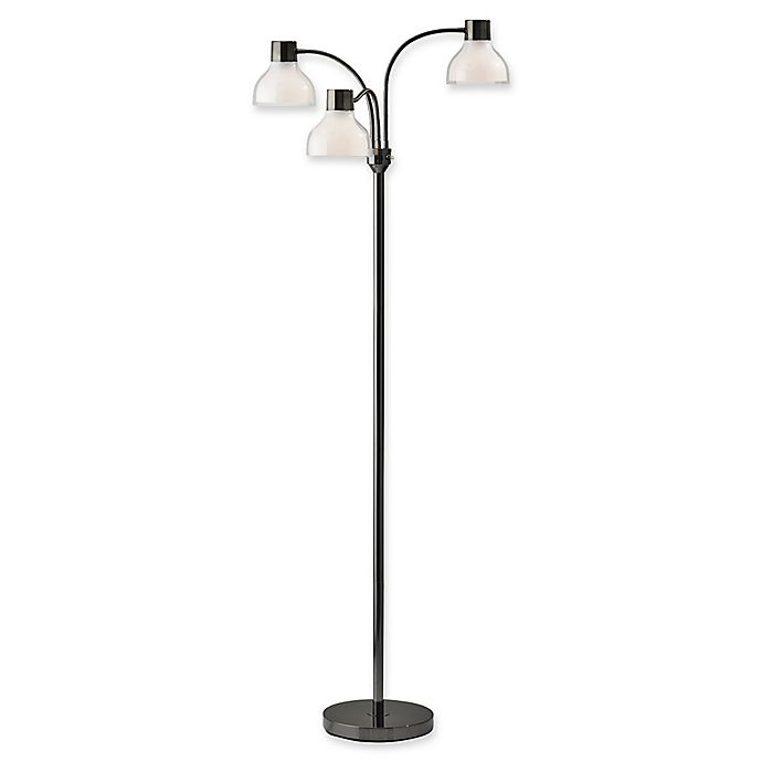 Alternate image 1 for Adesso® Presley 3-Arm Floor Lamp