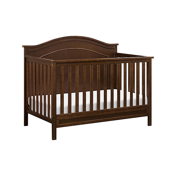 Alternate image 1 for DaVinci Charlie 4-in-1 Convertible Crib in Espresso