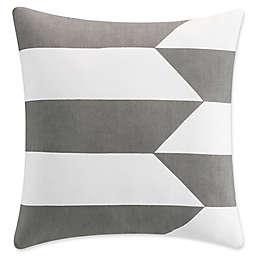 KAS Seneca Lake Life 18-Inch Square Throw Pillow in Taupe