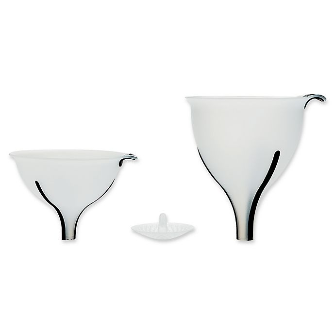 Alternate image 1 for OXO Good Grips® 3-Piece Funnel Set