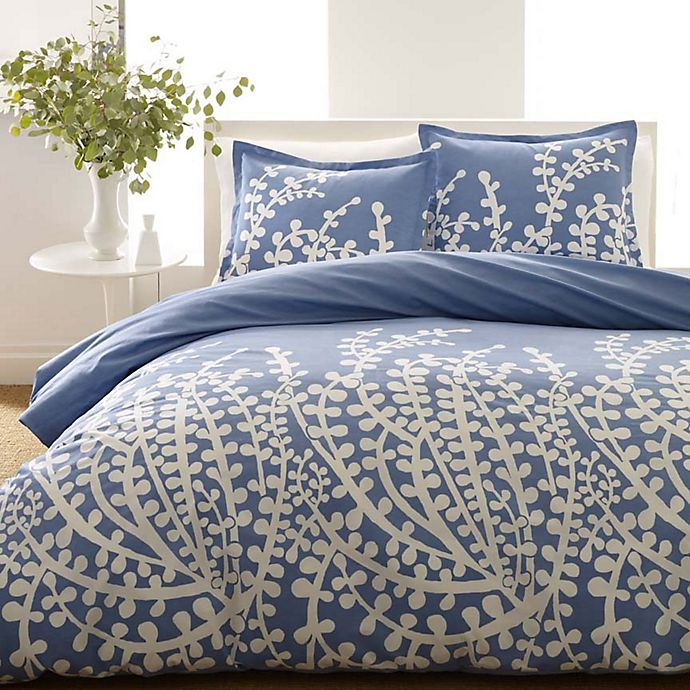 Alternate image 1 for City Scene® Branches 2-Piece Twin Comforter Set in French Blue