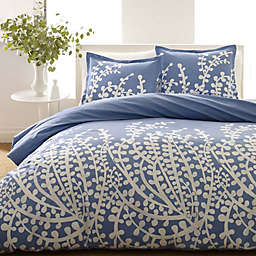 City Scene® Branches 2-Piece Twin Comforter Set in French Blue