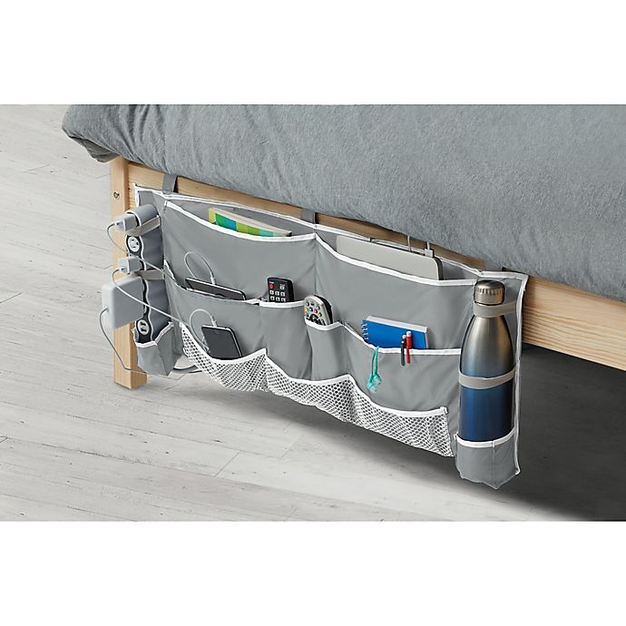 Alternate image 1 for 2-Piece Footboard Bedside Organizer Caddy