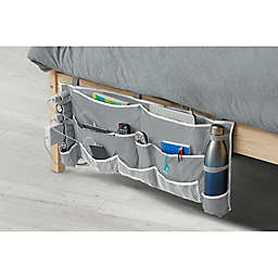 2-Piece Footboard Bedside Organizer Caddy
