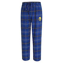 NBA Golden State Warriors Men's 2XL Flannel Plaid Pajama Pant with Left Leg Team Logo