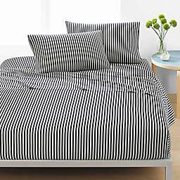 marimekko® Ajo Full Sheet Set in Black