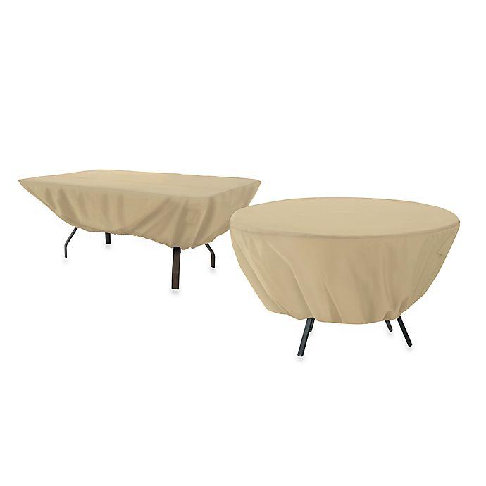 Alternate image 1 for Classic Accessories® Terrazzo Round Patio Table Cover