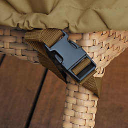 Classic Accessories® Veranda Small Patio Loveseat and Bench Cover in Pebble