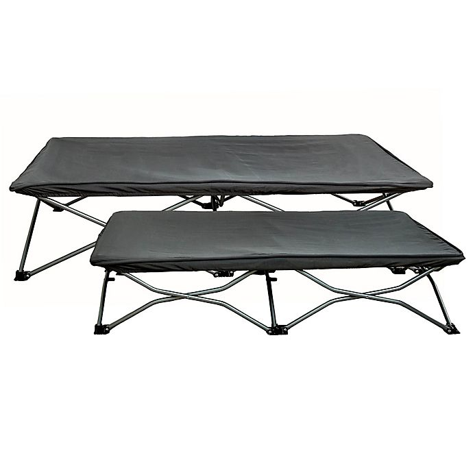 Alternate image 1 for Regalo® My Cot Portable Toddler Bed in Grey