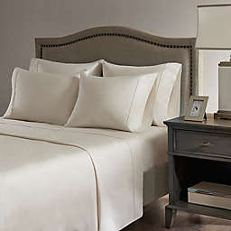 Madison Park Hotel 800-Thread-Count Cotton Rich Split King Sheet Set in Ivory
