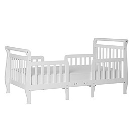 Dream On Me Emma 3-in-1 Convertible Toddler Bed in White