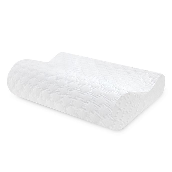 Alternate image 1 for Therapedic® Classic Contour Memory Foam Side/Back Sleeper Bed Pillow