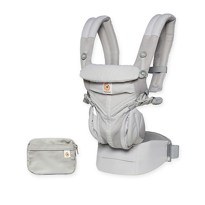 Alternate image 1 for Ergobaby™ Omni 360 Cool Air Mesh Baby Carrier in Pearl Grey