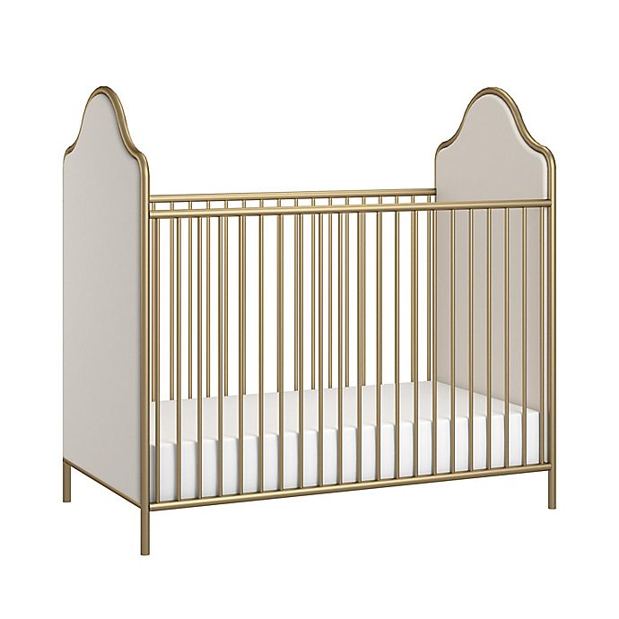 Alternate image 1 for Little Seeds Piper 2-in-1 Convertible Crib in Gold