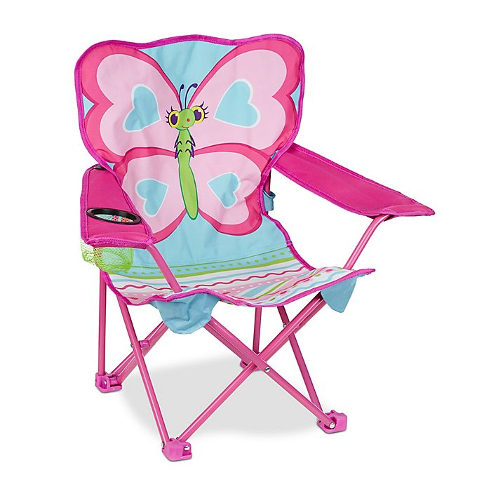 Alternate image 1 for Melissa & Doug® Cutie Pie Butterfly Camp Chair