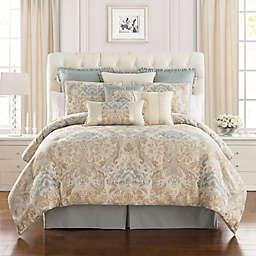 Marquis® by Waterford Warren Comforter Set in Cream