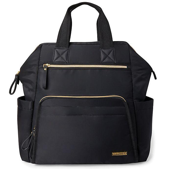 Alternate image 1 for SKIP*HOP® Mainframe Wide Open Backpack Diaper Bag