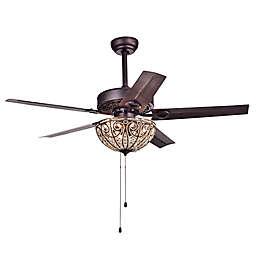 Catalina 52-Inch 3-Light Ceiling Fan in Bronze