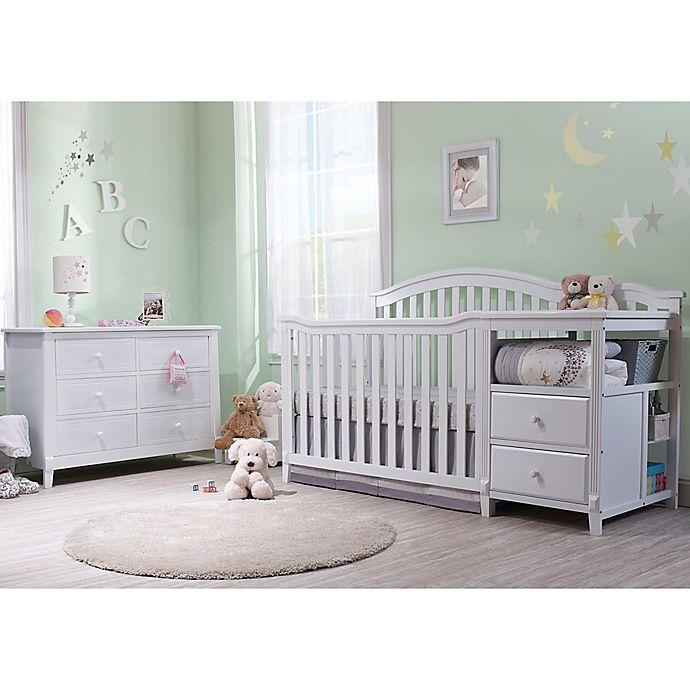Alternate image 1 for Sorelle Berkley Crib/Changer Nursery Furniture Collection