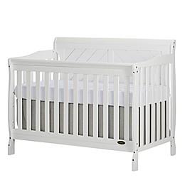 Dream On Me Ashton 4-in-1 Convertible Crib in White