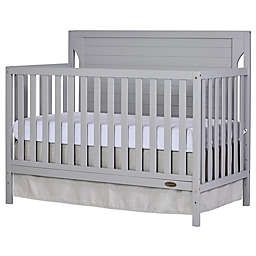 Dream On Me Cape Cod 4-in-1 Convertible Crib in Pebble Grey