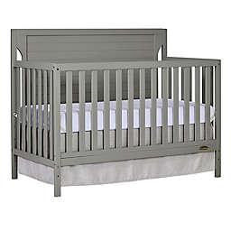 Dream On Me Cape Cod 4-in-1 Convertible Crib in Grey