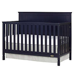 Dream On Me Alexa 4-in-1 Convertible Crib in Navy