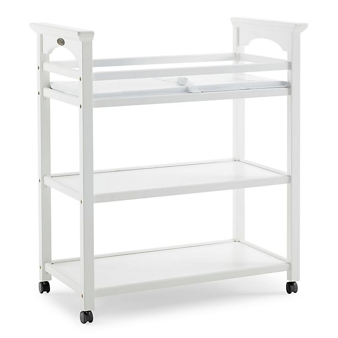 Alternate image 1 for Graco® Lauren Changing Table with Pad in White