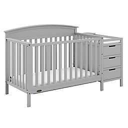 Graco® Benton 5-in-1 Convertible Crib and Changer in Pebble Grey