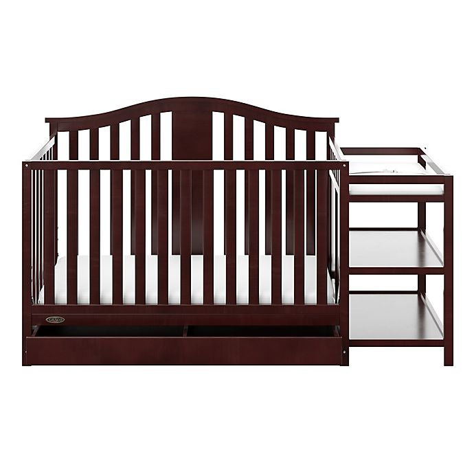 Alternate image 1 for Graco® Solano 4-in-1 Convertible Crib with Drawer