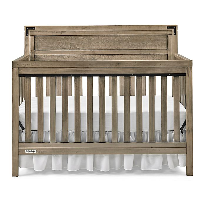 Alternate image 1 for Fisher-Price® Paxton 4-in-1 Convertible Crib