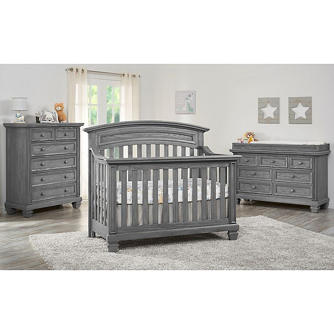 Alternate image 1 for Oxford Richmond Nursery Furniture Collection in Brushed Grey