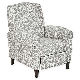 Madison Park Kirby Recliner in Grey
