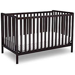 Delta Children Heartland 4-In-1 Convertible Crib in Chocolate