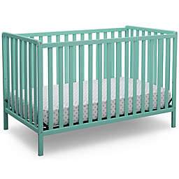 Delta Children Heartland 4-In-1 Convertible Crib in Aqua