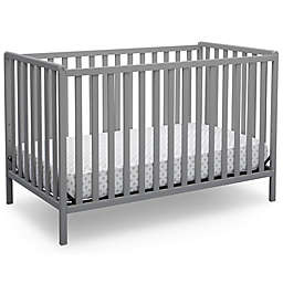Delta Children Heartland 4-In-1 Convertible Crib in Grey