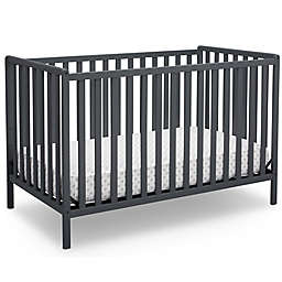 Delta Children Heartland 4-In-1 Convertible Crib in Dark Grey