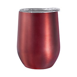 Oggi™ Cheers™ Stainless Steel Wine Tumbler with Acrylic Lid