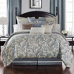Waterford® Florence Reversible California King Comforter Set in Chambray
