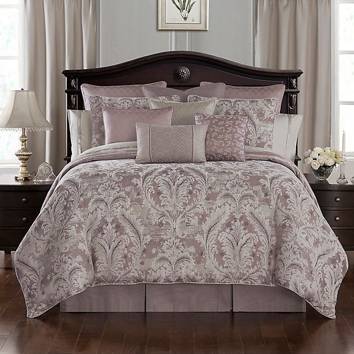 Alternate image 1 for Waterford® Victoria Comforter Set