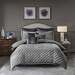 Madison Park Signature Sophisticate Velvet Comforter Set