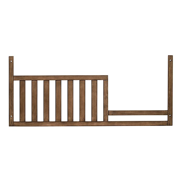 Alternate image 1 for Soho Baby Mayfield Toddler Guard Rail in Amber Brown