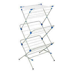 Honey-Can-Do® 3-Tier Mesh Top Drying Rack